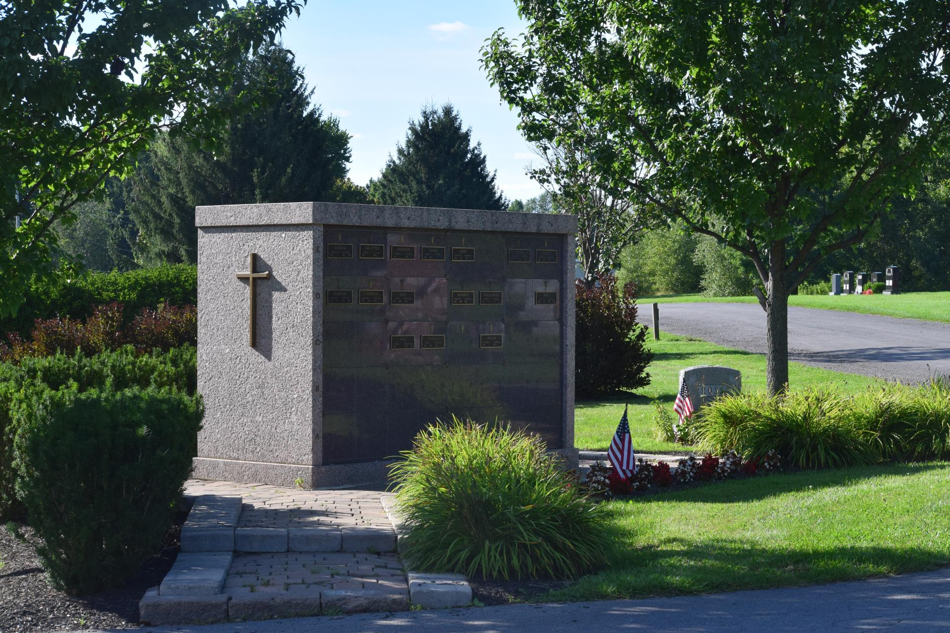 Columbaria at Mount Olivet Cemetery