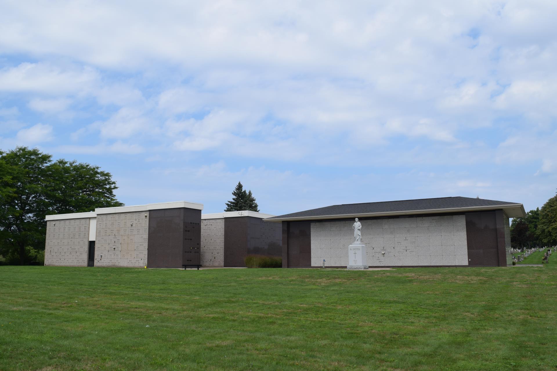 Mausoleum from a distance