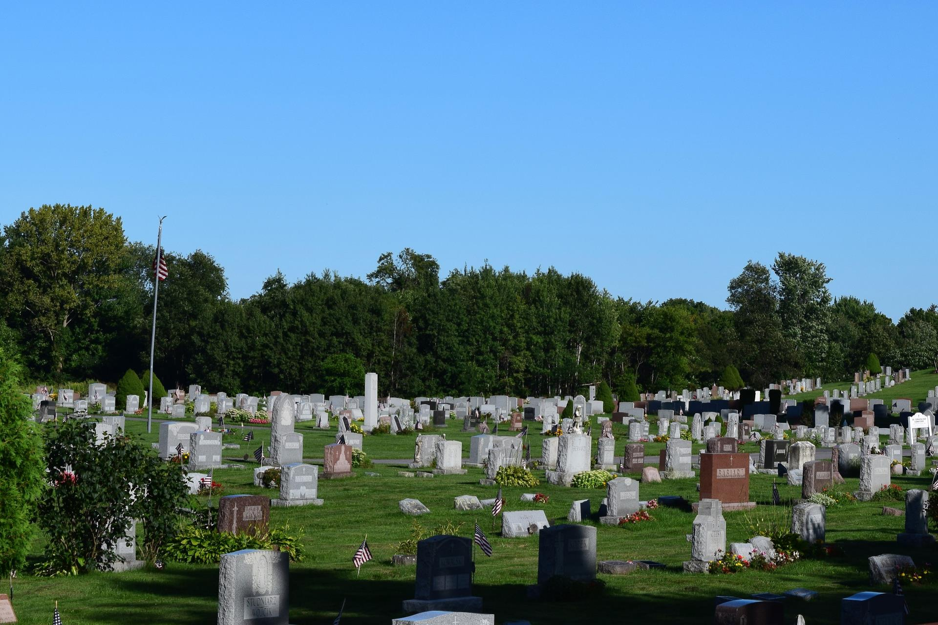 Burial Grounds at St. Stanislaus Cemetery